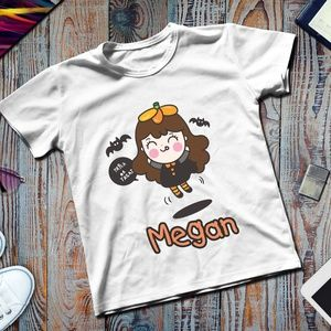 Make to order Personalized Name Halloween Tshirt